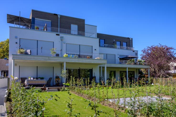 Aktuelles Fertigstellung Mehrfamilienhaus in Bonn Röttgen