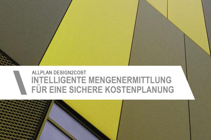 Aktuelles Allplan Design2Cost