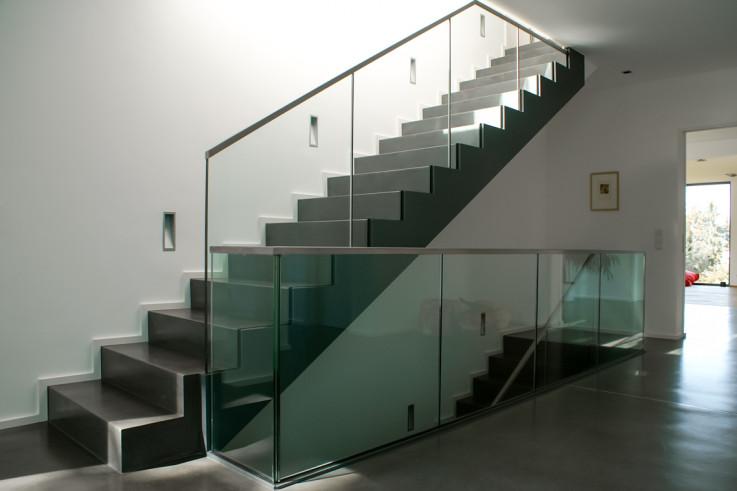 Projekt: Sichtbeton Treppe