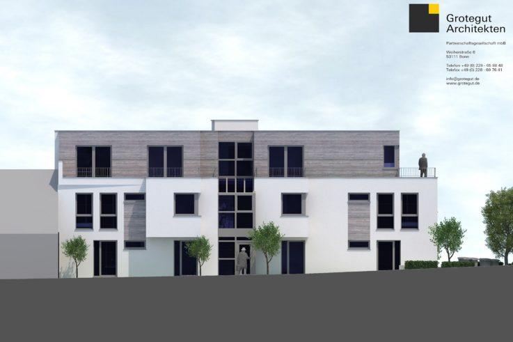 Aktuelles Baustart Mehrfamilienhaus