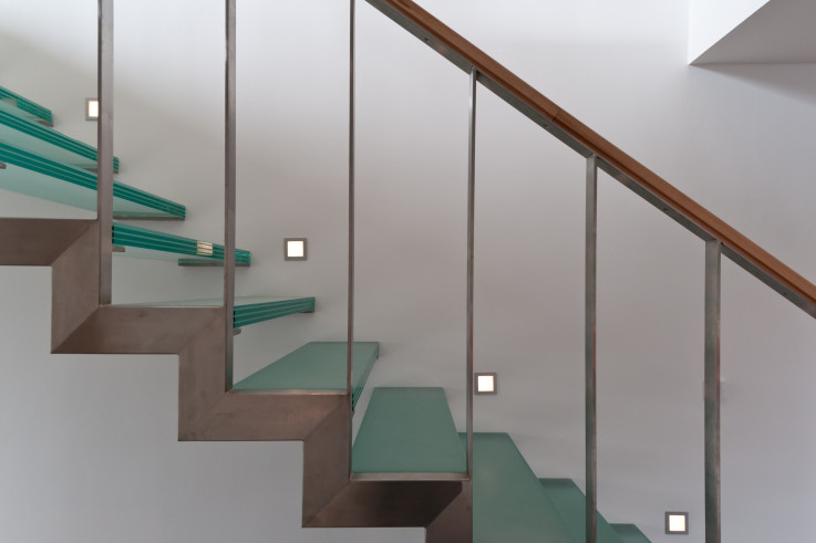 Projekt: Glastreppe