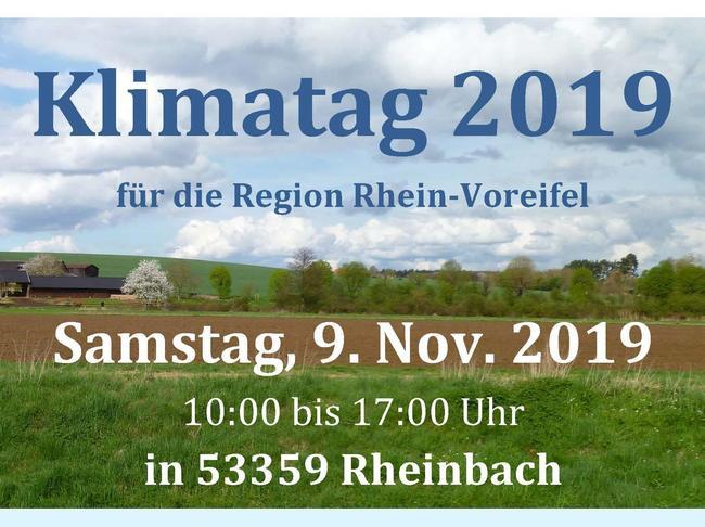 Aktuelles Klimatag in Rheinbach