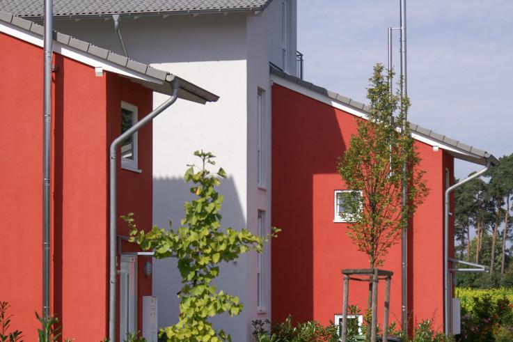 Projekt: Neubau 4 Reihenhäuser